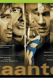 Kaante movie poster (#1 of 3) imp awards.