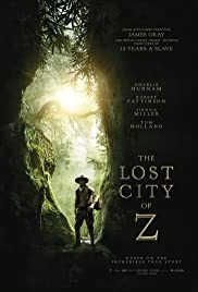 The Lost City of Z subtitles English | 15 subtitles